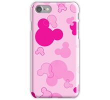 Hidden Mickey - Bubblegum iPhone Case/Skin