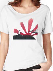 Samurai Penguin Women's Relaxed Fit T-Shirt
