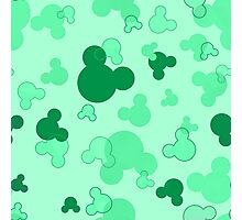 Hidden Mickey - Mint Photographic Print
