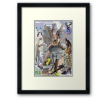Why Dada Ripped Futurists. Framed Print