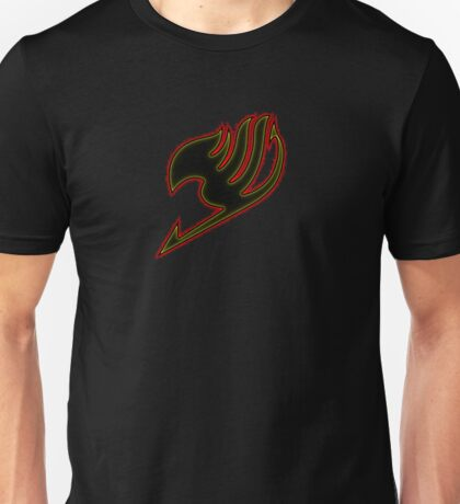 Fairy Tail Emblem - Red Yellow Unisex T-Shirt