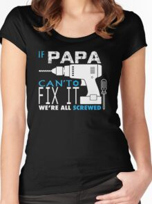 Father's Day Gifts - gifts for dad - fathers day gifts - fathers day gift ideas Women's Fitted Scoop T-Shirt