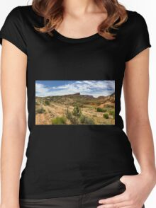 Navajo Country: Tsegi Canyon Women's Fitted Scoop T-Shirt
