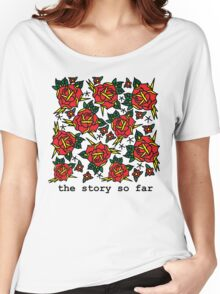 TSSF Florals Women's Relaxed Fit T-Shirt
