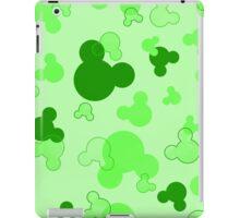 Hidden Mickey - Lime iPad Case/Skin