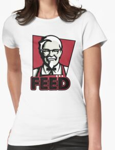 KFC FEED Womens Fitted T-Shirt