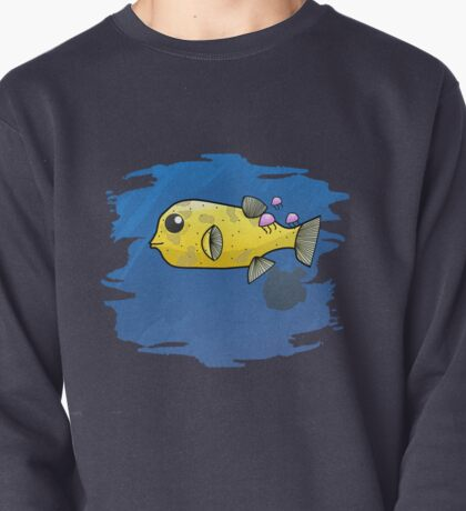 Puffer Fish Pullover