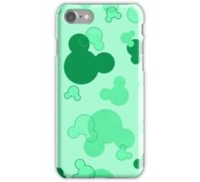 Hidden Mickey - Mint iPhone Case/Skin