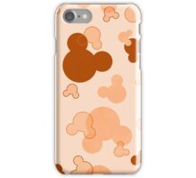 Hidden Mickey - Butterscotch iPhone Case/Skin