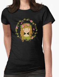 Girly Girl Womens Fitted T-Shirt