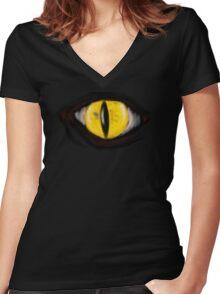 Birds Eye Veiw Women's Fitted V-Neck T-Shirt