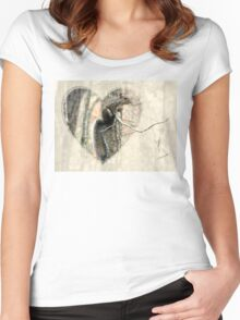 My Little Squirrelly Heart Women's Fitted Scoop T-Shirt