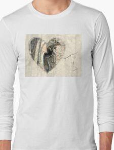 My Little Squirrelly Heart Long Sleeve T-Shirt