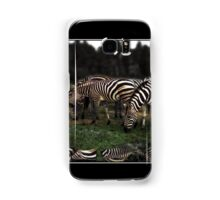 A Zeal of Zebras Poster Samsung Galaxy Case/Skin