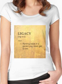 Hamilton: Legacy Women's Fitted Scoop T-Shirt