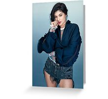 Kylie Jenner Thumb Greeting Card