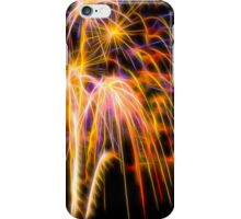 Abstract Fireworks Photograph #1 iPhone Case/Skin