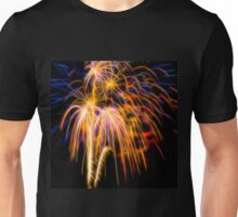 Abstract Fireworks Photograph #1 Unisex T-Shirt