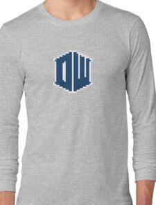 8 Bit Doctor Who Long Sleeve T-Shirt