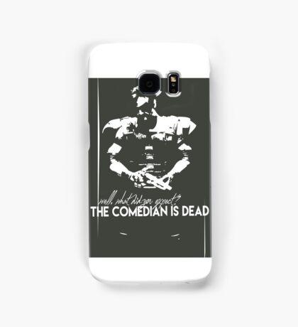 The comedian is dead Samsung Galaxy Case/Skin