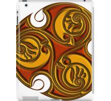 Triskele Shield-Gold iPad Case/Skin