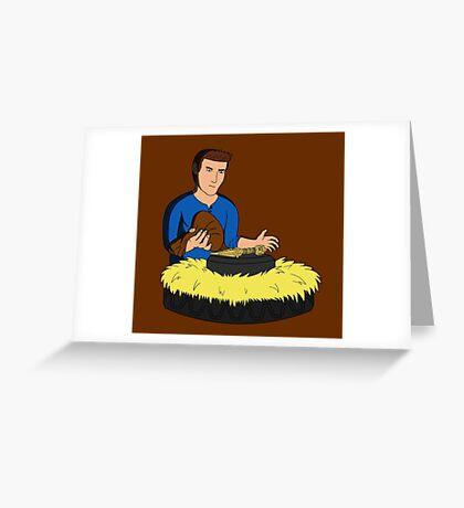 Indiana Drake Greeting Card