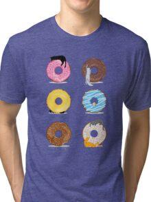Cats and Doughnuts Tri-blend T-Shirt
