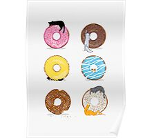Cats and Doughnuts Poster