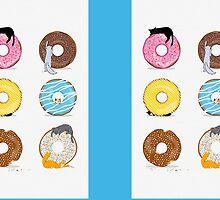 Cats and Doughnuts by Corinna Djaferis