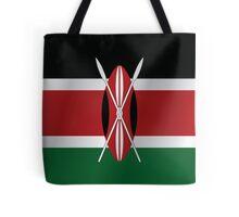 Kenya flag Tote Bag
