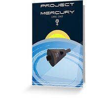 Project Mercury Greeting Card