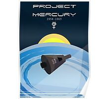 Project Mercury Poster