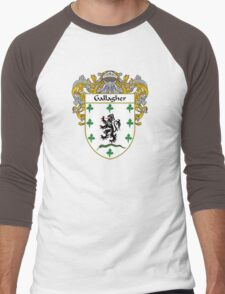 Gallagher Coat of Arms/Family Crest Men's Baseball ¾ T-Shirt