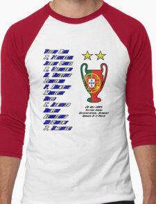 Porto 2004 Champions League Final Winners Men's Baseball ¾ T-Shirt