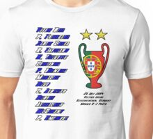 Porto 2004 Champions League Final Winners Unisex T-Shirt