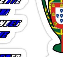 Porto 2004 Champions League Final Winners Sticker