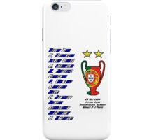 Porto 2004 Champions League Final Winners iPhone Case/Skin