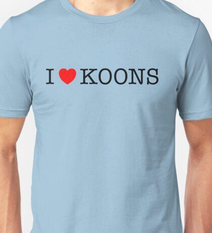 I Love Koons Unisex T-Shirt