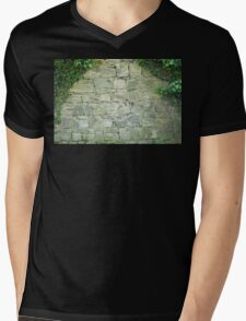 ancient walls are covered with ivy Mens V-Neck T-Shirt