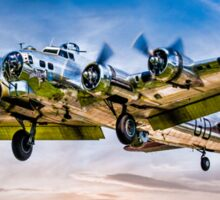 "Boeing B-17G Flying Fortress ""Yankee Lady"" Sticker"