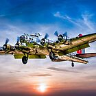 """Boeing B-17G Flying Fortress """"Yankee Lady"""" by Chris Lord"""