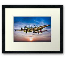 "Boeing B-17G Flying Fortress ""Yankee Lady"" Framed Print"