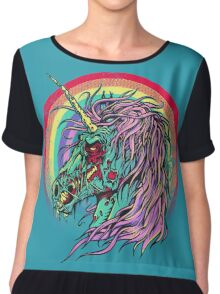 Zombie Unicorn Chiffon Top