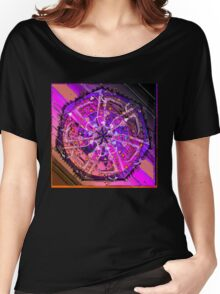 VIOLET VORTEX 38 Women's Relaxed Fit T-Shirt