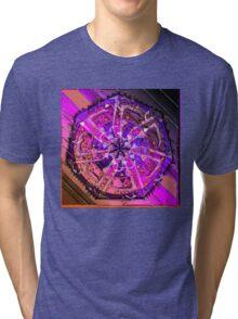 VIOLET VORTEX 38 Tri-blend T-Shirt