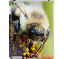 Arrgh! Let me wipe my face first! iPad Case/Skin