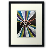 Trippy Eye Framed Print