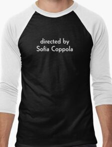Directed by Sofia Coppola (white) Men's Baseball ¾ T-Shirt