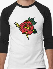 rose2 Men's Baseball ¾ T-Shirt