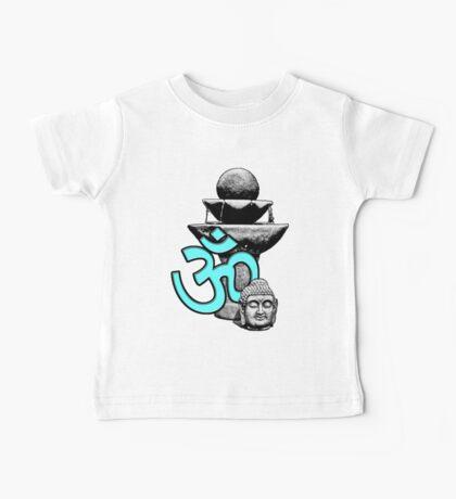 Buddha Om Fountain Baby Tee